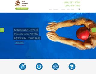 stemcelltherapyintexas.com screenshot