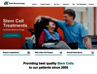 stemcelltreatmentnow.com screenshot