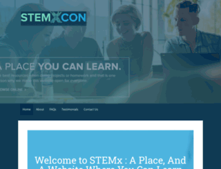 stemxcon.com screenshot