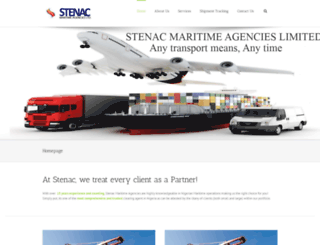 stenacmaritime.com screenshot