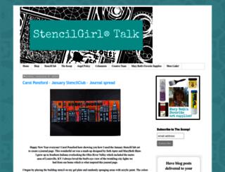 stencilgirltalk.com screenshot