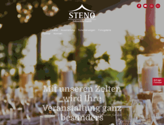 steno-partyzeltverleih.de screenshot