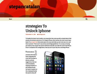 stepancatalan.wordpress.com screenshot