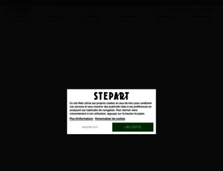 stepart.fr screenshot