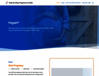 stepbysteppregnancyguide.com screenshot