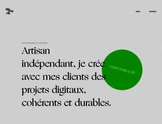 stephaneissartel.com screenshot