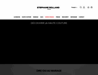 stephanerolland.com screenshot