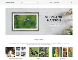 stephanie-hanson.artistwebsites.com screenshot