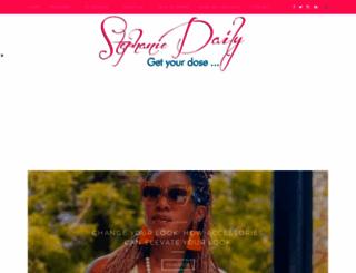 stephaniedaily.com screenshot