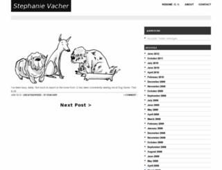 stephanievacher.com screenshot