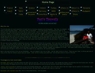 stephband.info screenshot