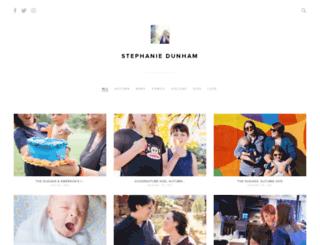 stephdunham.pixieset.com screenshot