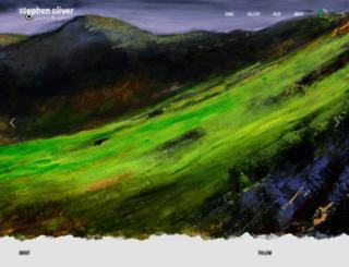stephen-oliver-art.co.uk screenshot