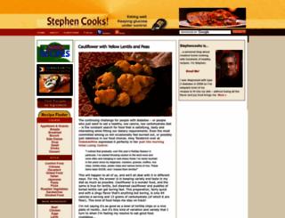 stephencooks.com screenshot