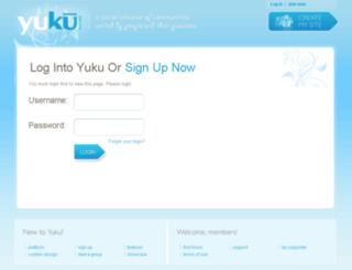 stephenmoyer.yuku.com screenshot