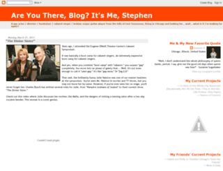 stephenrader.blogspot.com screenshot