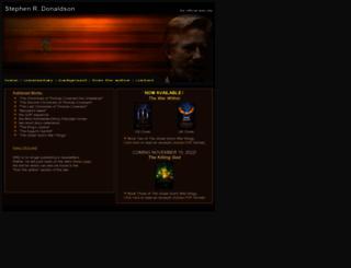 stephenrdonaldson.com screenshot