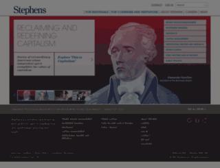 stephens.com screenshot