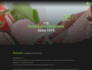 stephensfreshfoods.co.uk screenshot