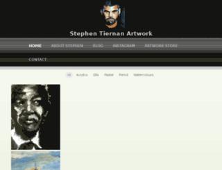 stephentiernanart.com.au screenshot