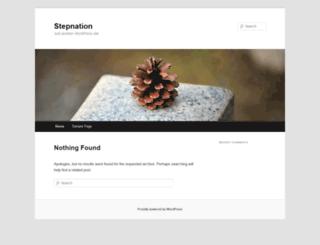 stepnation.com screenshot