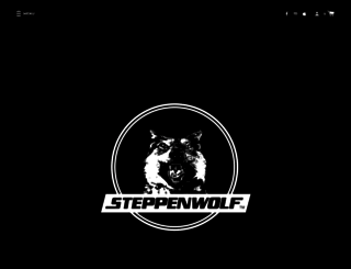 steppenwolf.com screenshot