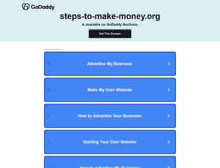 steps-to-make-money.org screenshot
