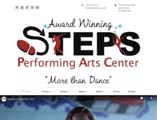 stepsdanceutah.com screenshot