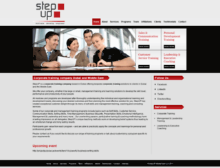 stepupuae.com screenshot