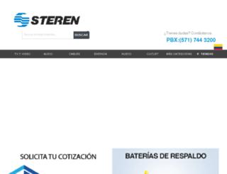 sterenshop.com.co screenshot