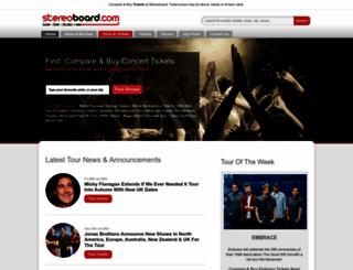 stereoboard.com screenshot