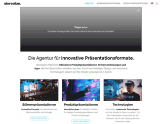 stereolize.com screenshot