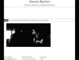 stereomartini.com screenshot