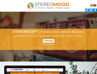 stereomood.com screenshot