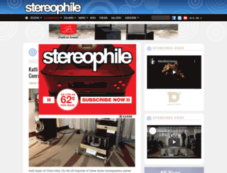 stereophile.com screenshot