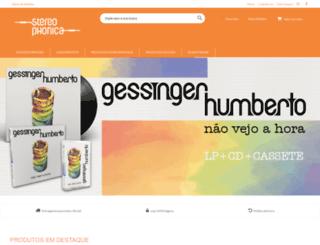 stereophonica.com.br screenshot