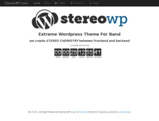 stereowp.com screenshot