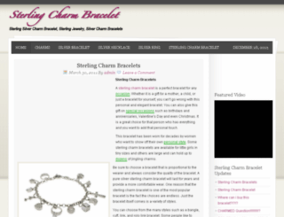 sterlingcharmbracelet.org screenshot