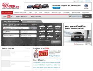 sterlingford.autotrader.ca screenshot