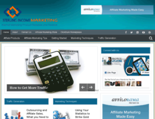 sterlingincomemarketing.com screenshot