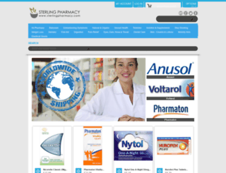 sterlingpharmacy.com screenshot
