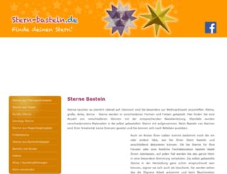 stern-basteln.de screenshot