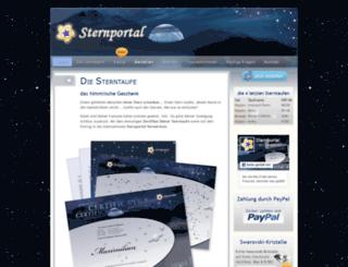 sternportal.de screenshot
