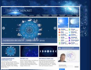 sternzeichen.net screenshot