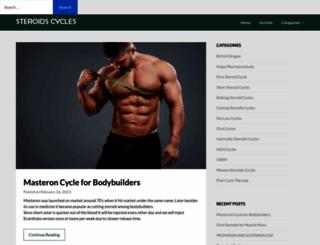 steroidscycles.net screenshot