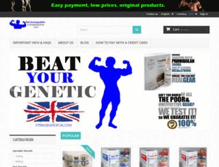 steroidshopuk.com screenshot