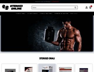 steroizi-online.com screenshot