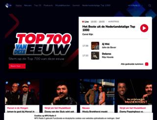 sterren.avrotros.nl screenshot
