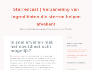 sterrencast.nl screenshot