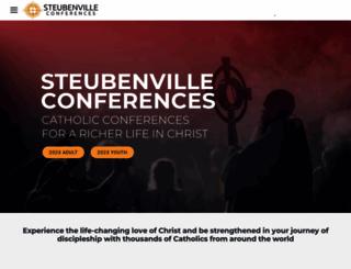 steubenvilleconferences.com screenshot